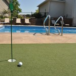 Poolscape Golf Minneapolis Residential Landscape Design