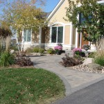 Front Yard Paver Entry