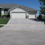 Front Yard Paver 3 Car Garage Minneapolis