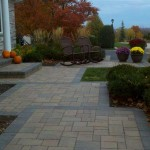 Paver Walkway Entry