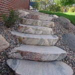 Landscape Rock Steps Minneapolis