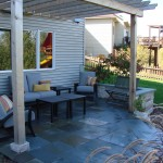 Outdoor Paved Deck
