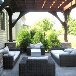 Backyard Paver Deck