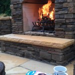 Landscape Outdoor Fireplace