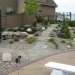 Backyard Paver Steps