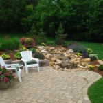 Outdoor Paver Patio