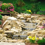 Landscaping Rock Fountain