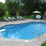Pool with Outdoor Kitchen