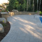 Backyard Pool Paver