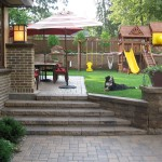 Backyard Patio Playground Minneapolis