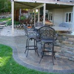 Backyard Seating Paver Minneapolis, MN