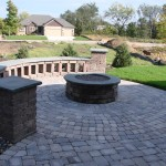 Firepit Paver Backyard Minneapolis