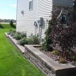 Side of House Landscape Minneapolis