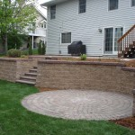 Outdoor Paver Retaining Walls Minneapolis