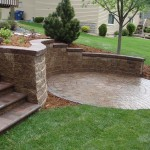Outdoor Paver Retaining Walls Minneapolis, MN