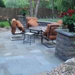Backyard seating Area Minneapolis, MN