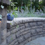 Backyard Retaining Wall Minneapolis, MN