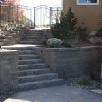 Backyard Walkway Steps Minneapolis, Minnesota