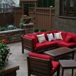 Backyard Patio Seating Landscape Design Minneapolis