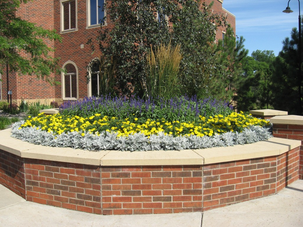 Commercial annuals 3 commercial landscaping minneapolis for Curbside garden designs