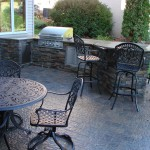 outdoor kitchen in minneapolis Residential Landscape Design