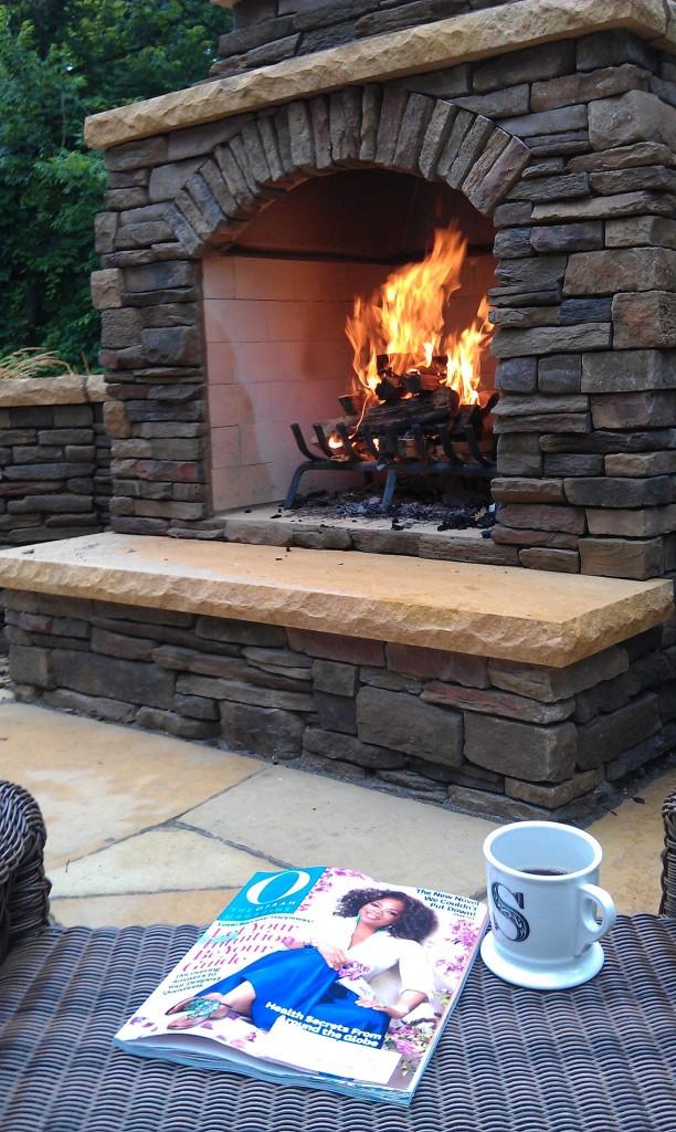 outdoor fireplace minneapolis