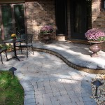Paver Entryway - Landscape Design Minneapolis