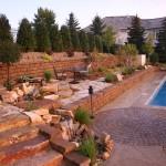 Pool Landscape Design Eden Prairie