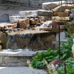 Water Feature Fountain - Landscape Design Wayzata